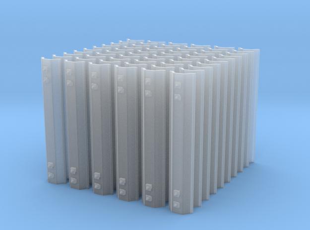 60 Dachschwellen 0e für Peco c.80 in Smoothest Fine Detail Plastic