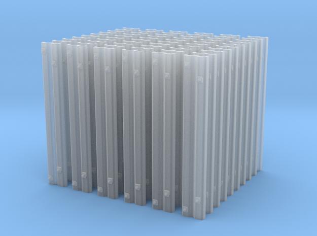 60 Rillenschwellen 0e für Peco c.60 in Smoothest Fine Detail Plastic
