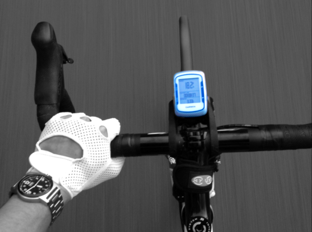 Garmin 800 + Ay-Up Centreline mount 3d printed