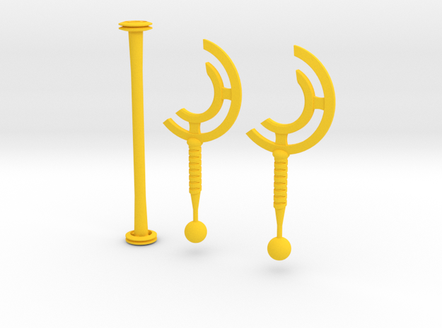 cyclone blades in Yellow Processed Versatile Plastic