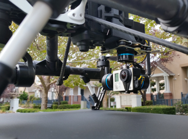 Gimbal Mount plate for DJI Inspire 1