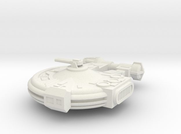 YT-2400 Freighter in White Natural Versatile Plastic