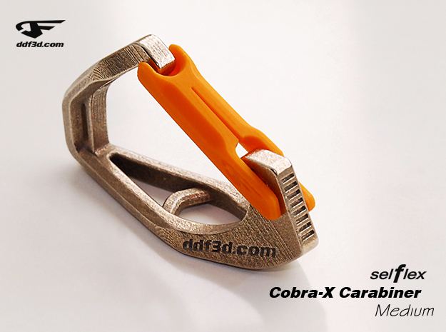 Cobra X Carabiner *Medium* DH004SW in Stainless Steel