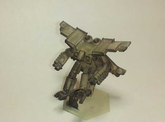 Mecha- Crusher LAM AirMech Pose 2 (1/285th) 3d printed