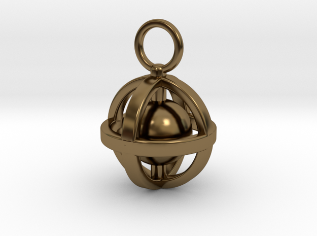 Connected in Polished Bronze