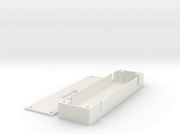 3DR Minum OSD Tray in White Natural Versatile Plastic