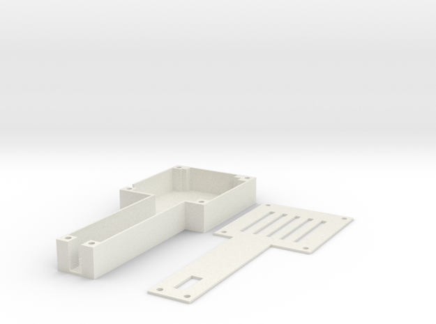 1.2G/1.3G 4CH 200mW Wireless VTx Tray in White Natural Versatile Plastic