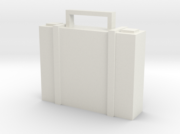 Briefcase in White Strong & Flexible