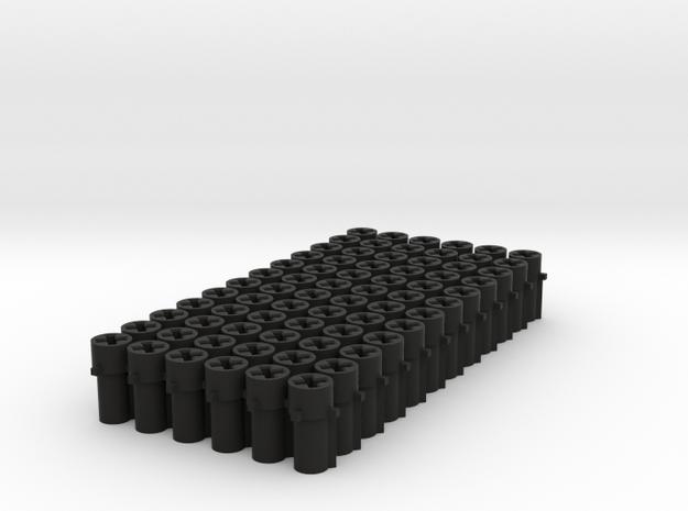 Superpetadapter72 in Black Natural Versatile Plastic