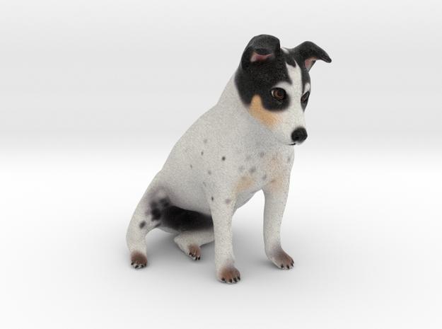 Custom Dog Figurine - Lifta in Full Color Sandstone