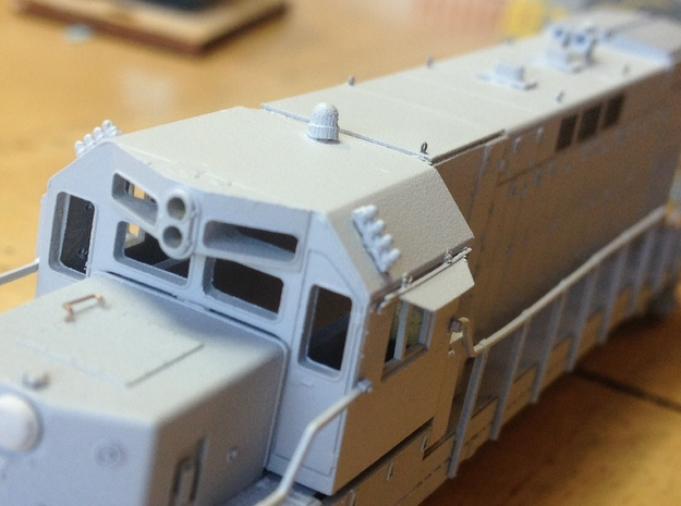 N Western Cullen Beacons in Smoothest Fine Detail Plastic