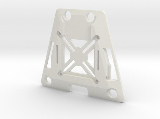 Main Body Lower (YD-5C) in White Natural Versatile Plastic