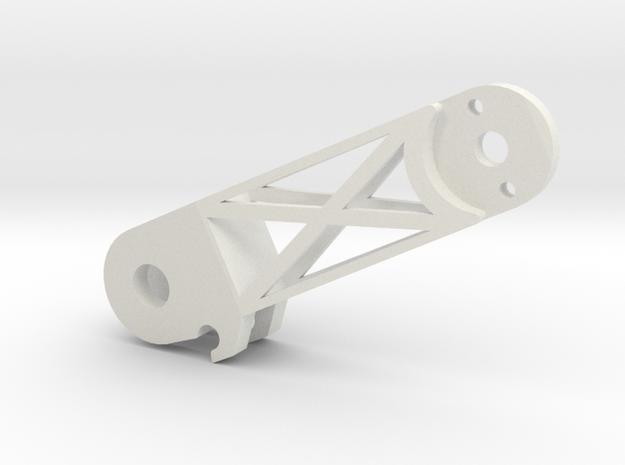 Arms Back Right(YD-5C) in White Natural Versatile Plastic