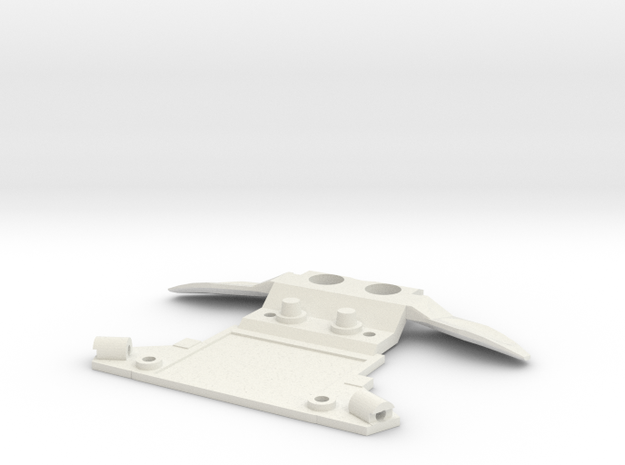 Subchassis V7 Honda Front Holders in White Natural Versatile Plastic