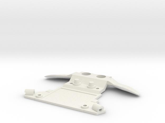Subchassis V7 Honda Front Holders in White Natural Versatile Plastic