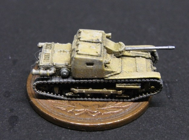 1/144 Carro Veloce CV33/L3 With 20mm AT Rifle 3d printed