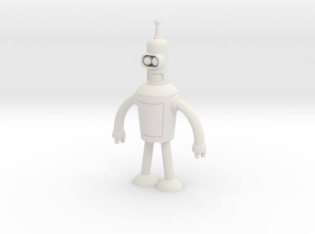 Bender in White Natural Versatile Plastic