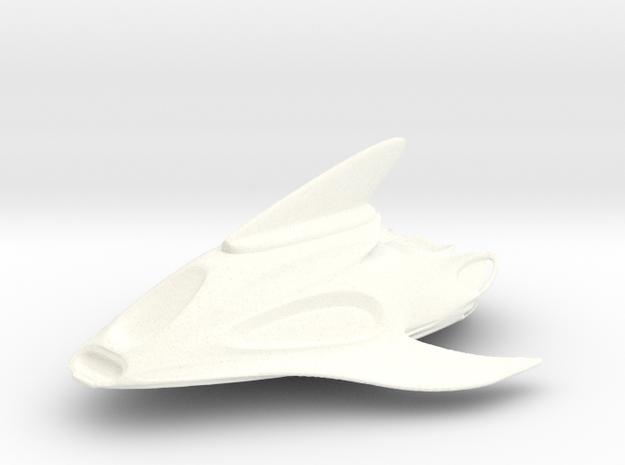 The Tour boat in White Processed Versatile Plastic