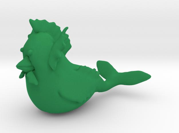 Merchicken in Green Processed Versatile Plastic