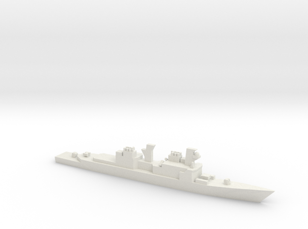 USS Spruance class DD979 Conolly, 1/1800 in White Natural Versatile Plastic
