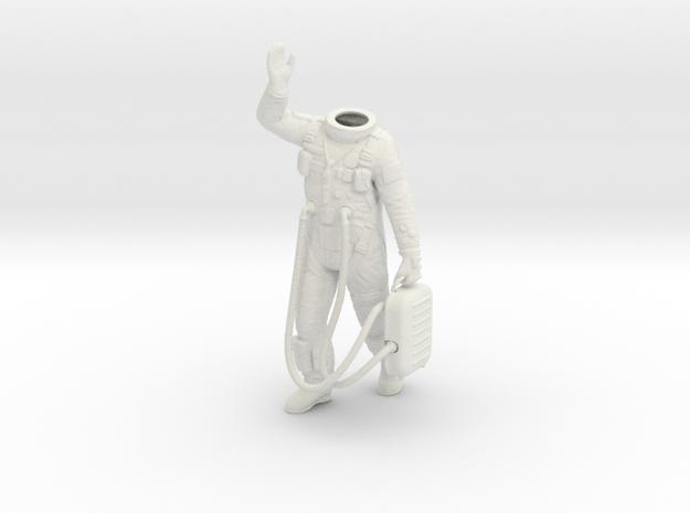 1:6 Gemini Astronaut / Body Nr 1 in White Strong & Flexible