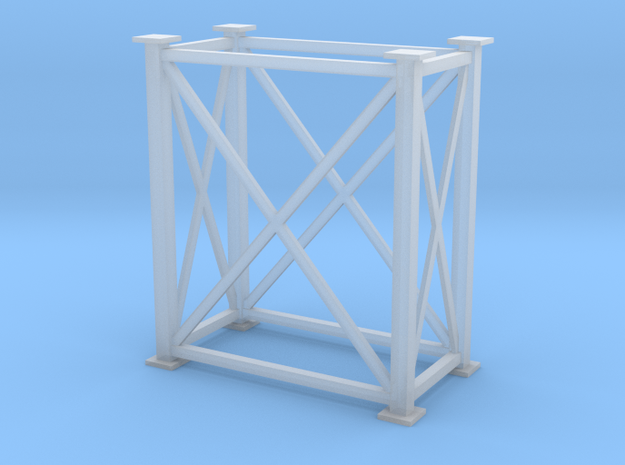 'S Scale' - 4' x 8' x 10'. Tower in Smooth Fine Detail Plastic