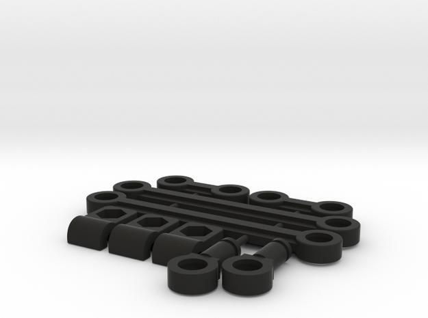 Vintage Kyosho Stabilizer Kit in Black Natural Versatile Plastic