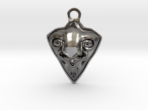 FAUST pendant  in Polished Nickel Steel