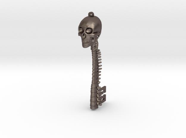 Skeletonkeymetal in Polished Bronzed Silver Steel