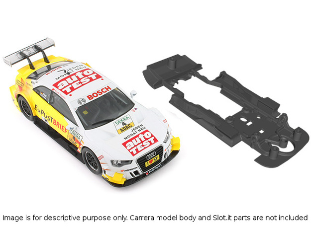 S01-ST2 Chassis for Carrera Audi A5 DTM STD/STD