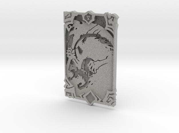 Darksiders Tarot Card - V - Death in Metallic Plastic