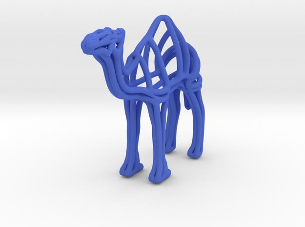 Camel Wireframe Keychain
