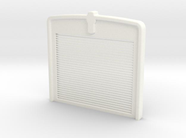 W900 Stock GRILL 3 in White Processed Versatile Plastic