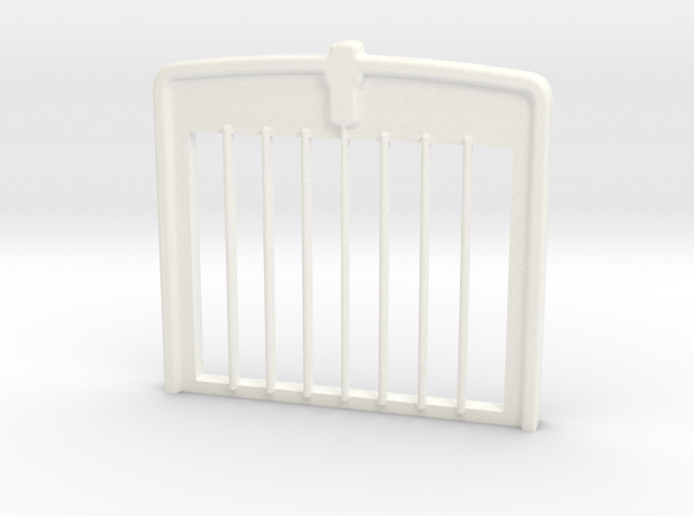 W900 Stock GRILL in White Processed Versatile Plastic