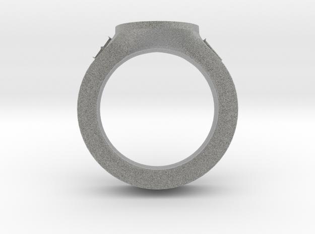 J&C fleur de lis Ring 2 in Metallic Plastic