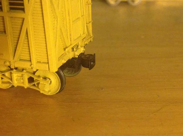 Link And Pin Couplers (HO or S Scale) in Smooth Fine Detail Plastic: 1:87.1