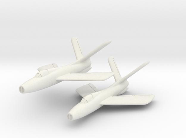 Republic XF-91 Thunderceptor Pair (In Flight) 6mm