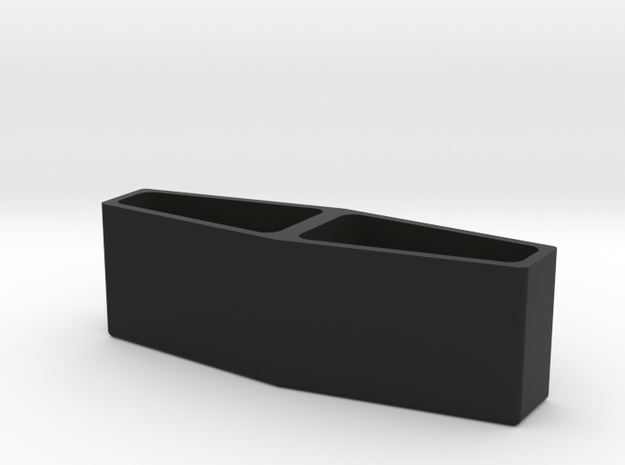Torpedo Light Box in Black Natural Versatile Plastic