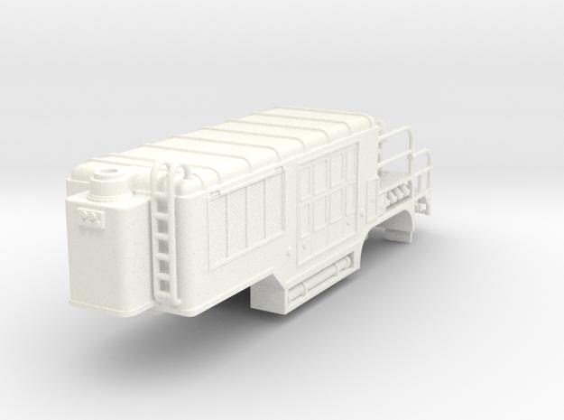1/87 super pumper trailer in White Processed Versatile Plastic
