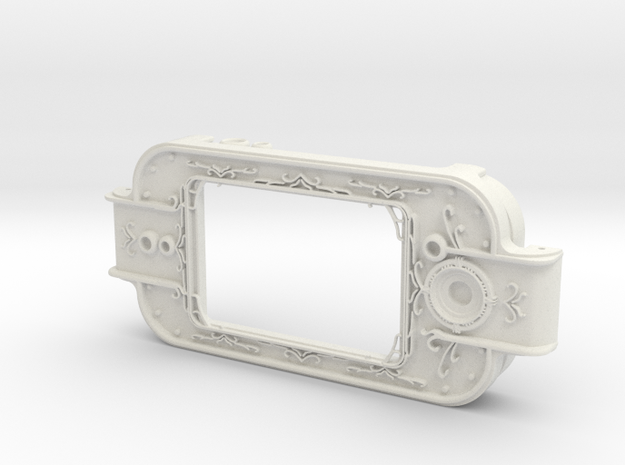 MPDA Screen Faceplate (Screen-Accurate Size) in White Strong & Flexible
