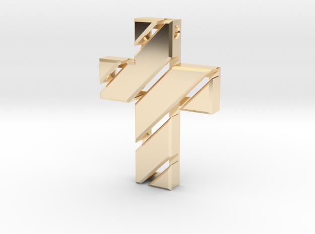 Cross  in 14K Gold