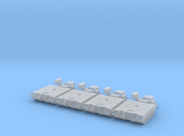 Alacran Light Tank Long Range Missiles 3d printed