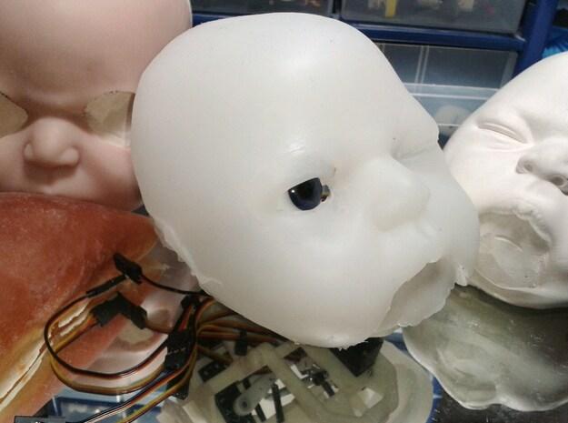 Animatronic Head NANO 3d printed