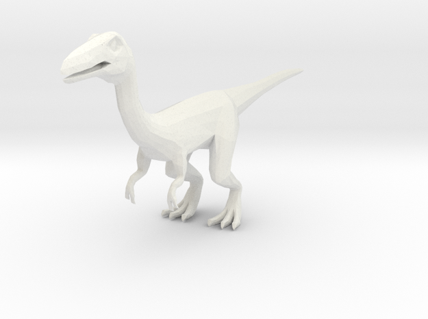 Coelophysis in White Strong & Flexible