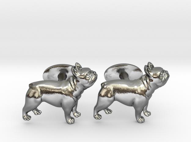 French Bulldog Cufflinks.