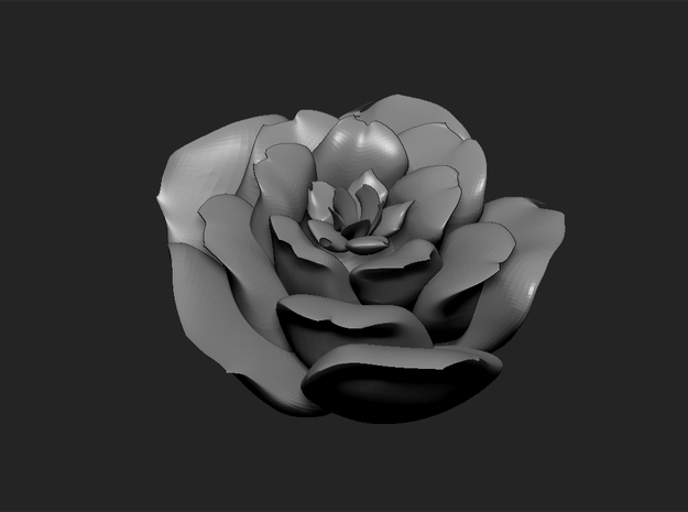 Mini Rose  3d printed
