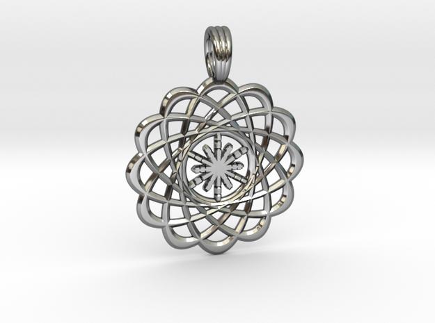 CREATION FLOWER in Premium Silver