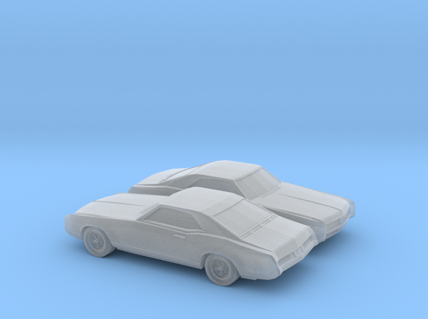 1/160 2X 1966 Buick Riviera in Smooth Fine Detail Plastic