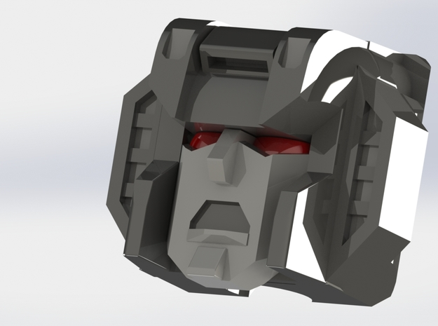 Starscream Death Face 3d printed