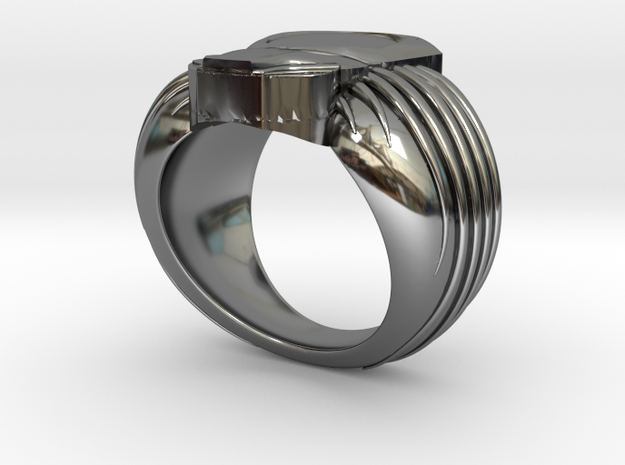 Predator Ring 19mm 3d printed
